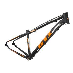 quadro-mountain-bike-aro-29-mtb-gti-em-aluminio-leve-barato-de-qualidade-direcao-semi-integrada-preto-com-laranja-e-branco
