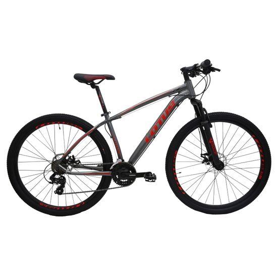 bicicleta-mountain-bike-custo-beneficio-aro-29-lotus-com-conjunto-shimano-21-marchas-preto-com-vermelho-de-qualidade
