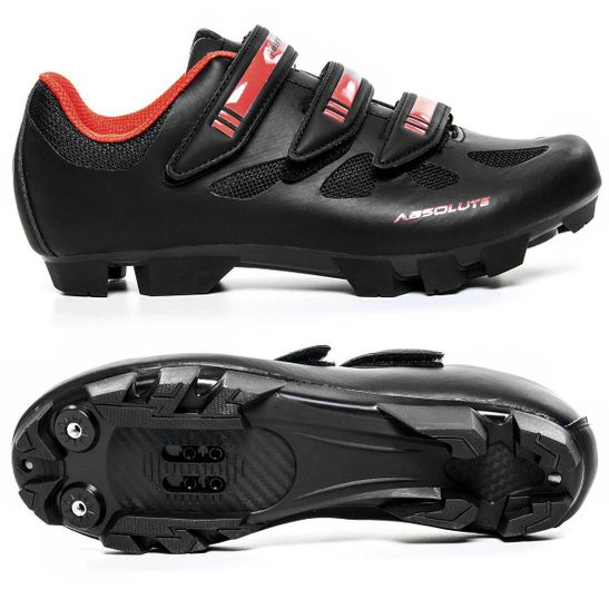 sapatilha-absolute-nero-para-mountain-bike-preta-com-vermelha-em-couro-de-alta-qualidade-com-fechamento-em-3-velcros-resistente-com-entradas-de-ar