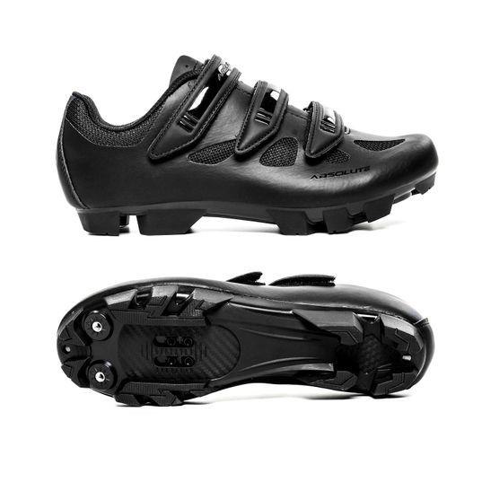 sapatilha-absolute-nero-para-mountain-bike-preta-em-couro-de-alta-qualidade-com-fechamento-em-3-velcros-resistente-com-entradas-de-ar
