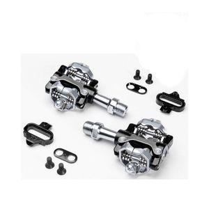 pedal-clip-para-mountain-bike-wellgo-de-alta-qualidade-modelo-01-com-tacos-preto-com-prata-eixo-de-cromo-sistema-de-rolamentos
