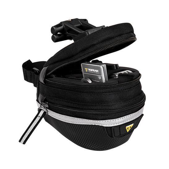 bolsa-para-canote-selim-de-bicicleta-mountain-bike-mtb-speed-gravel-topak-survival-tool-wedge-pack-ii-cin-ferramentas-incluidas