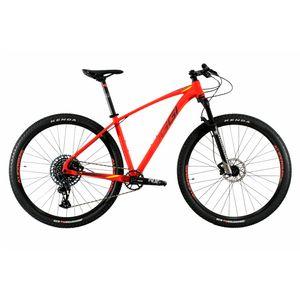 bicicle-aro-29-oggi-7.5-com-manitou-grupo-transmissao-sram-nx-gx-com-12-velocidades-componentes-itm-vermelho-com-amarelo