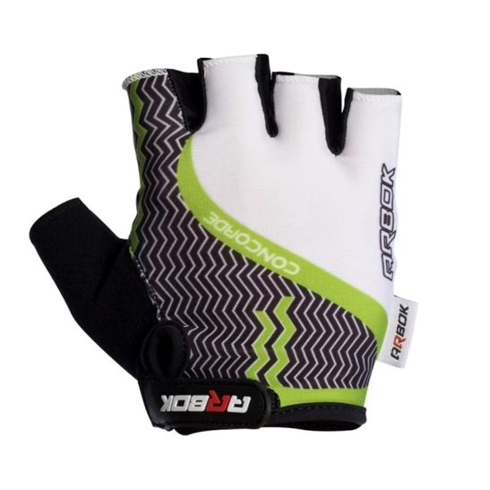 luva-dedo-curto-arbok-concorde-para-ciclismo-de-qualidade-confortavel-de-qualidade-preto-com-branco-e-verde