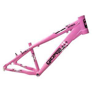 quadro-aro-26-para-whelling-freeride-4trix-gios-br-nacional-resistente-para-freio-a-disco-e-v-brake-rosa-com-preto-e-branco