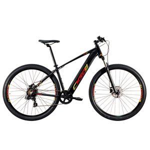 bicicleta-oggi-eletrica-aro-29-modelo-8.0-preto-com-vermelho-e-amarelo-de-qualidade-tourney-7-velocidades-com-freio-a-disco-hidraulico