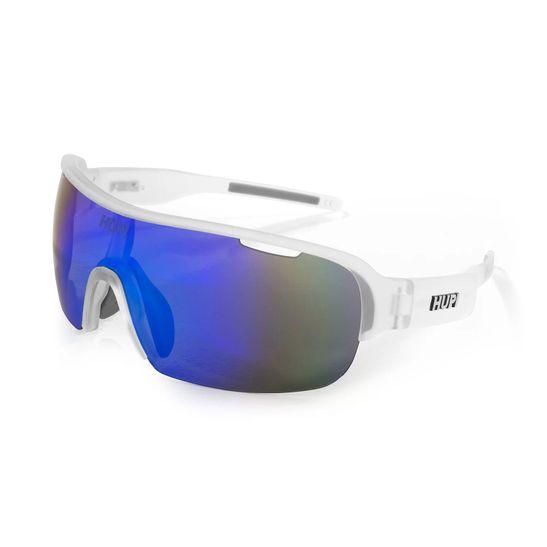 oculos-de-sol-hupi-para-ciclismo-modelo-pacer-armacao-cistal-transparente-e-lentes-azuis-espelhadas-para-corrida-e-pedal