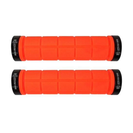 manopla-de-alta-qualidade-laranja-neon-gios-gi-155-com-2-travas-de-aluminio-com-textura-emborrachada-mountain-bike-mtb