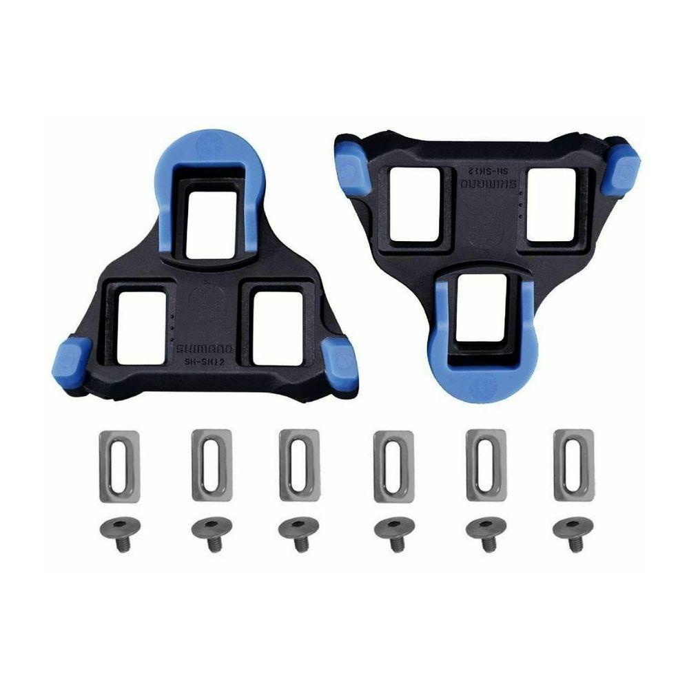 Taquinho para Pedal Shimano Speed SH-12 Azul 2° - kfbikes
