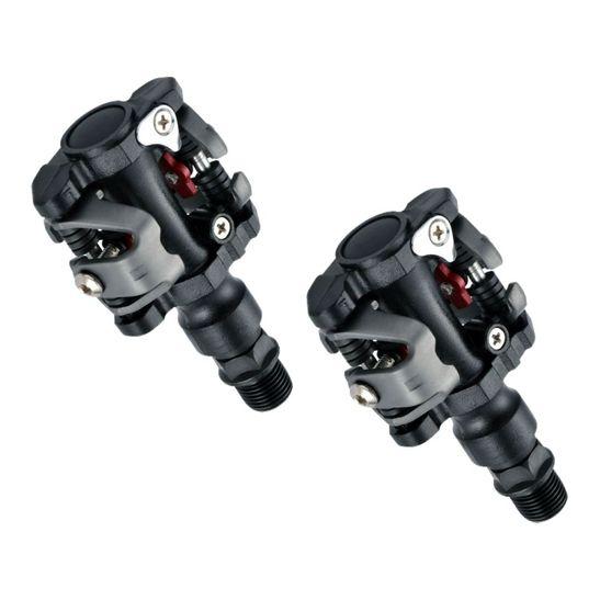pedal-em-aluminio-wellgo-para-mountain-bike-duplo-eixo-de-cromo-chromoly-mtb-m919-com-tacos