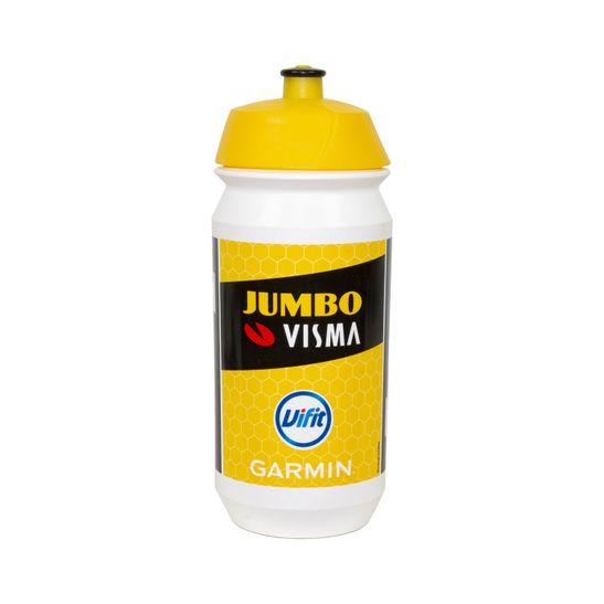 caramanhola-tacx-shiva-de-500ml-modelo-jumbo-visma-branco-com-amarelo-e-preto-para-speed-mtb
