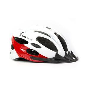 capacete-de-ciclismo-para-bicicleta-absolute-nero-custo-beneficio-de-qualidade-de-ilumicacao-e-viseira-branco-com-vermelho