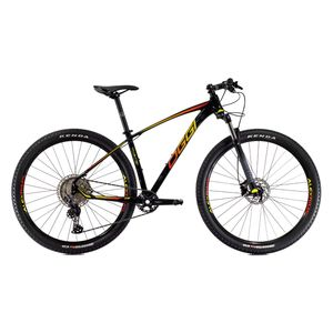 mountain-bike-aro-29-oggi-7.2-2021-preto-com-amarelo-com-deore-de-1x11-freio-a-disco-hidraulico-shimano-suspensao-rockshox-com-trava-no-guidao-pedal-clip-wellgo
