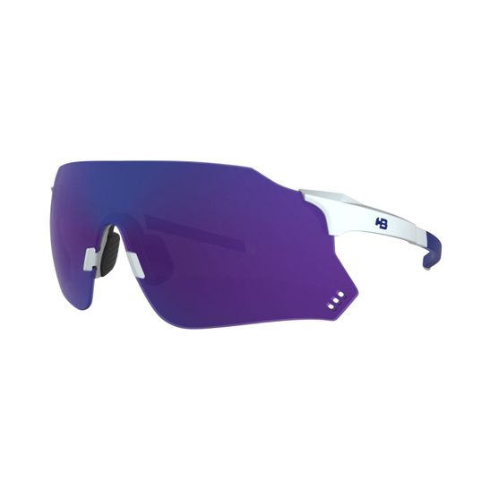 oculos-de-sol-para-mountain-bike-ou-speed-hb-hot-buttered-com-armacao-branca-perolizada-com-azul-e-lente-azul-quad-x