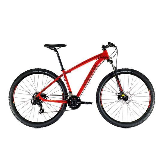bicicleta-mountain-bike-aro-29-vermelha-com-preto-oggi-hacker-sport-shimano-tourney-de-21-velocidades-suspensao-garantia-vitalicia