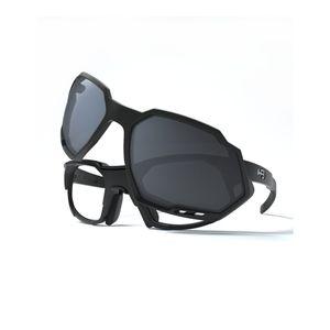 oculos-de-sol-e-grau-com-rx-clip-hb-para-ciclismo-mtb-mountain-bike-speed-armacao-preta-e-lentes-pretas