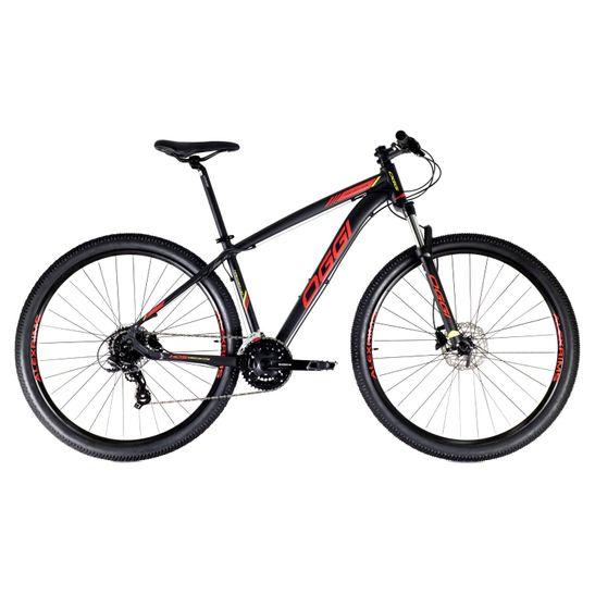 bicicleta-mountain-bike-oggi-hacker-hds-2021-preto-com-vermelho-e-amarelo-com-conjunto-shimano-de-24-marchas-8-velocidades-suspensao-com-trava