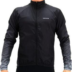 jaqueta-corta-vento-para-ciclismo-e-corr-da-hupi-preto-com-cinza-del-qualidade-com-bolsos-internos-preto-com-cinza