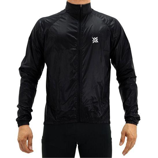 jaqueta-corta-vento-compacta-hupi-all-black-para-ciclismo-mtb-mountain-bike-speed-road-preto-com-ziper-e-bolsos-internos-e-externos