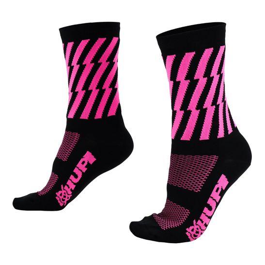 meia-hupi-canva-preto-com-rosa-de-qualidade-resistente-para-ciclismo-confortavel