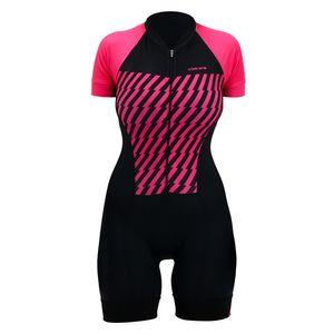 macaquinho-feminino-hupi-rosa-com-preto-com-bolsos-traseiros--protecao-uv-50--de-qualidade-com-forro-comfort-em-gel-para-ciclismo-mtb--mountain-bike-speed-road