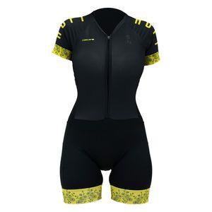 macaquinho-feminino-para-ciclismo-hupi-modelo-like-a-girl-gold-preto-com-amarelo-com-protecao-uv-50-