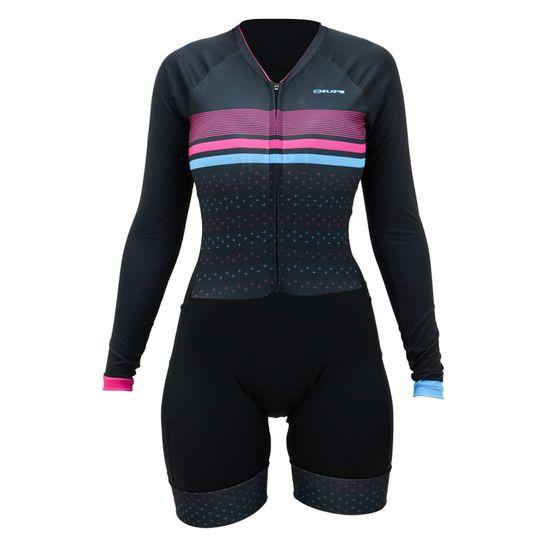 macaquinho-feminino-para-ciclismo-com-manga-longa-hupi-modelo-rubi-preto-com-rosa-e-azul-bolsos-traseiros-e-laterais-ziper-grande-automatico