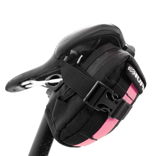 bolsa-de-selim-para-bicicleta-hupi-modelo-top-preto-com-rosa-tamanho-medio-com-compartimentos-internos-de-qualidade-resistente-feito-no-brasil