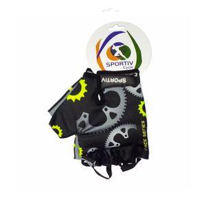luva-de-ciclismo-de-qualidade-sportiv-preto-com-cinza-e-verde-de-velcro-confortavel-para-mtb-speed-road-masculino-e-feminino