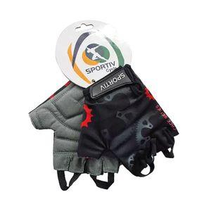luva-confortavel-dedo-curto-de-ciclismo-marca-sportiv-coroas-preto-com-vermelho-com-velcro-de-qualidade