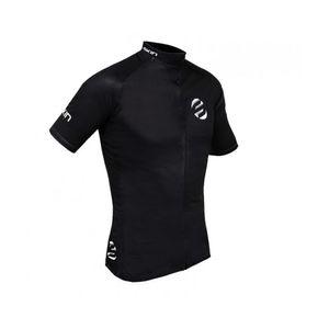 camisa-de-ciclismo-skin-de-qualidade-na-cor-preta-com-ziper-automatico-protecao-uv-3-bolsos-traseiros-estampa-refletiva-mtb-speed