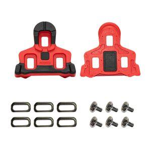 taco-para-sapatilha-speed-padrao-spd-shimano-com-6-graus-de-flutuacao-vermelho-com-preto-com-parafusos-de-alta-qualidade-e-resistencia