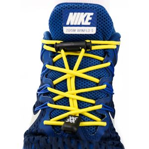 cadarco-elastico-hupi-laces-amarelo-confortavel-facil-instalacao-para-corrida-triathlon-com-regulador-e-ponteiras