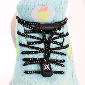 cadarco-elastico-hupi-laces-preto-riscos-brancos-confortavel-facil-instalacao-para-corrida-triathlon-com-regulador-e-ponteiras