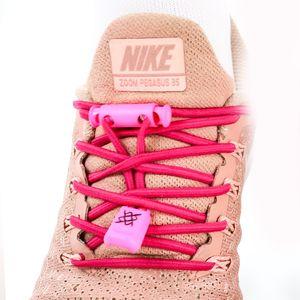 cadarco-elastico-hupi-laces-rosa-solido-liso-para-tenis-de-corrida-confortavel-de-qualidade-com-regulador-e-ponteiras-acabamentos