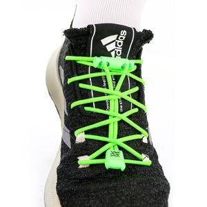cadarco-elastico-hupi-laces-confortavel-para-tenis-corrida-e-casual-verde-neon-com-ponteira-e-regulador