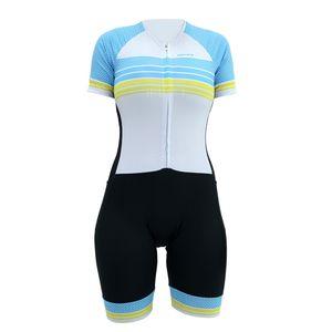 macaquinho-deminino-de-ciclismo-hupi-tieta-preto-com-azul-branco-e-amarelo-confortavel-comforro-emgel-protecao-uv-ziper-inteligente