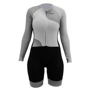 macaquinho-feminino-de-ciclismo-manga-longa-hupi-modelo-dalila-cinza-com-preto-com-ziper-automatico-de-qualidade-protecao-uv
