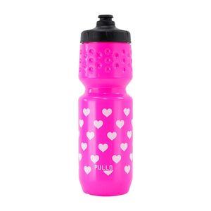 caramanhola-garrafinha-ciclismo-para-bike-marca-pullo-modelo-my-heart-rosa-com-branco-com-coracoes-divertida-de-qualidade