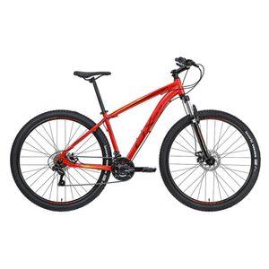 mountain-bike-aro-29-custo-beneficio-de-qualidade-vermelho-vinho-e-verde-conjunto-shimano-suspensao-dianteira