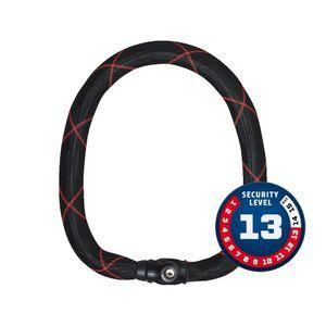cadeado-abus-forte-resistente-nivel-13-de-sesguranca-escala-alema-modelo-ivy-chain-9100-preto-com-vermelho-robusto