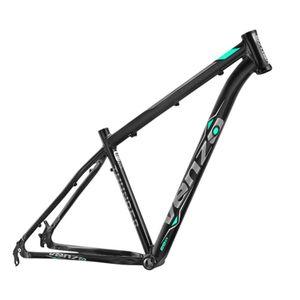 quadro-venzo-thunder-mountain-bike-aro-29-preto-com-cinza-e-verde-aqua-em-aluminio-6061-para-freio-a-disco-de-alta-qualidade