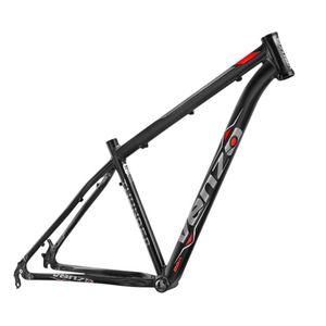 quadro-mountain-bike-venzo-modelo-thunder-preto-com-cinza-e-vermelho-para-freio-a-disco-em-aluminio-6061