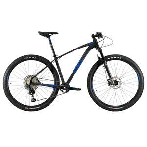 bicicleta-oggi-7.4-2021-preto-com-azul-e-grafite-grupo-shimano-slx-de-12-velocidades-suspensao-manitou-machete-ar-rodas-alex-cubo-dt-swiss