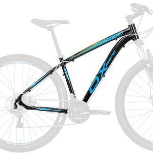 quadro-de-bicicleta-mountain-bike-mtb-aro-29-em-aluminio-6061-resistente-preto-com-azul-amarelo-ox-glide-para-freio-a-disco
